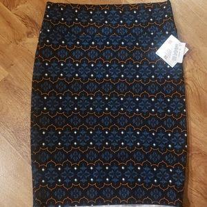 NWT LuLaRoe XL Cassie Pencil Skirt